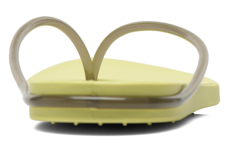 Tongs Ipanema Philippe Starck Thing M Fem Vert vue droite