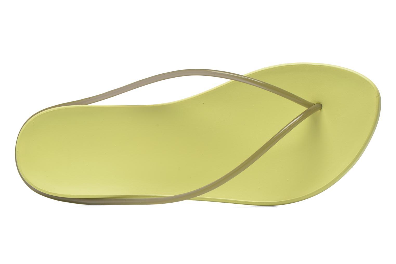 Tongs Ipanema Philippe Starck Thing M Fem Vert vue gauche