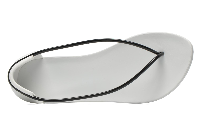 Sandales et nu-pieds Ipanema Philippe Starck Thing N Fem Blanc vue gauche