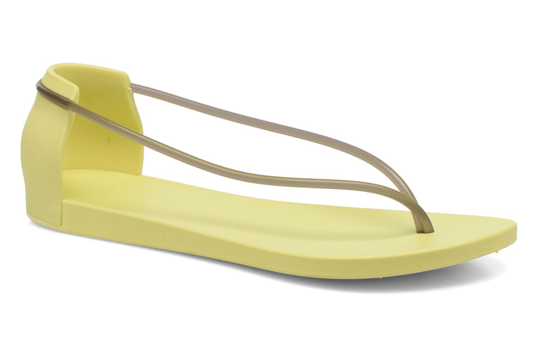 Sandales et nu-pieds Ipanema Philippe Starck Thing N Fem Jaune vue détail/paire