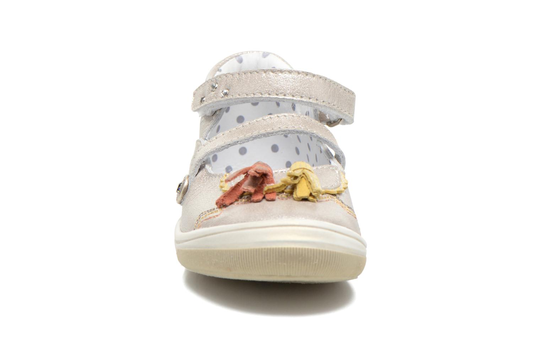 Ballerines Catimini Civia Gris vue portées chaussures