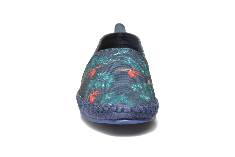 Espadrilles Eleven paris Espa Bleu vue portées chaussures