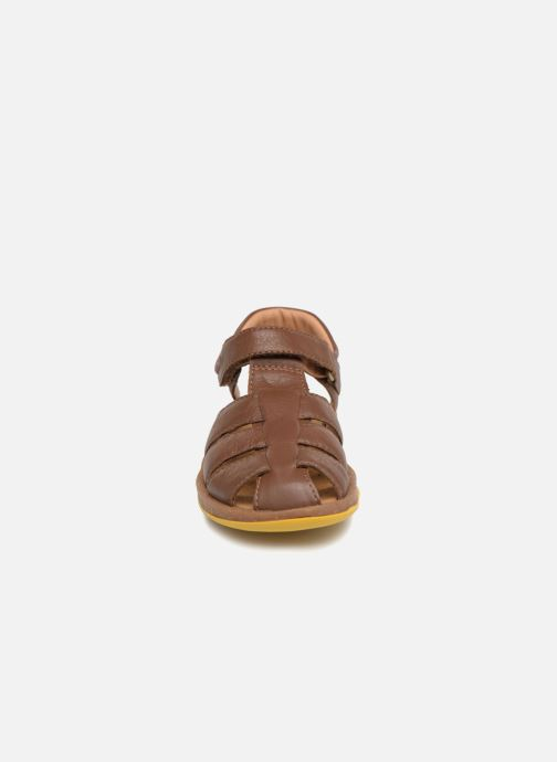 Sandals Camper Bicho E Brown model view