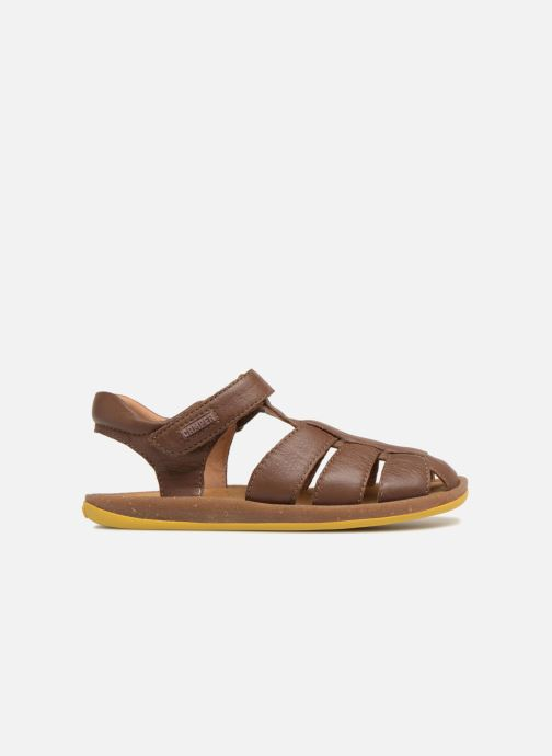 Sandals Camper Bicho E Brown back view