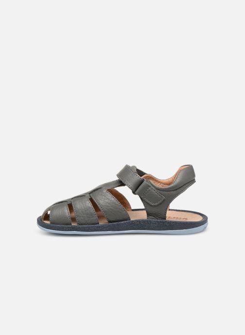 Sandales et nu-pieds Camper Bicho E Gris vue face