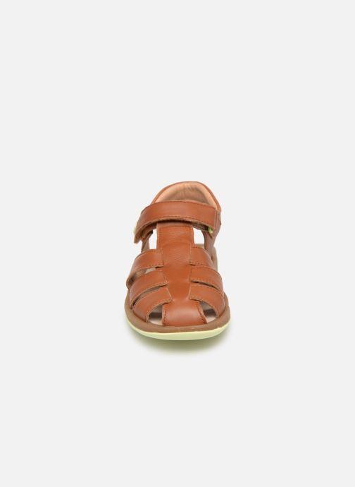 Sandales et nu-pieds Camper Bicho E Marron vue portées chaussures