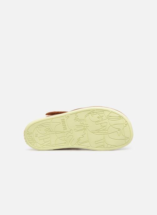 Sandales et nu-pieds Camper Bicho E Marron vue haut