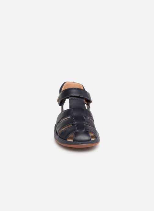 Sandales et nu-pieds Camper Bicho E Bleu vue portées chaussures