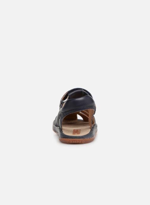 Sandales et nu-pieds Camper Bicho E Bleu vue droite