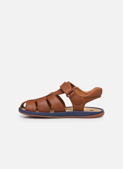Sandali e scarpe aperte Camper Bicho E Marrone immagine frontale
