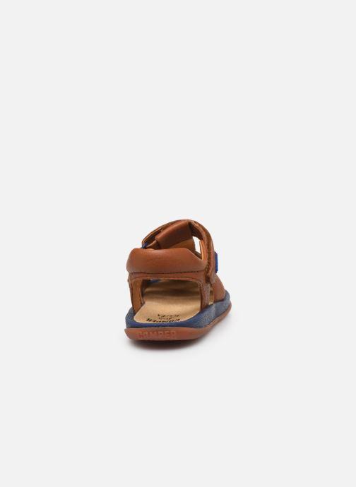 Sandales et nu-pieds Camper Bicho E Marron vue droite