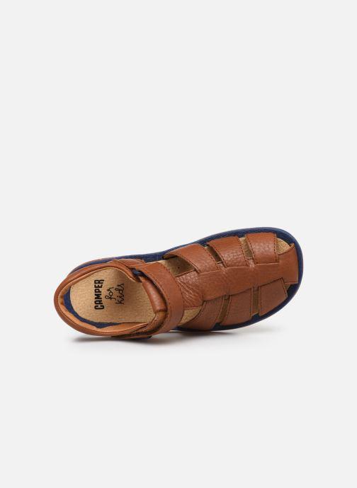 Sandales et nu-pieds Camper Bicho E Marron vue gauche