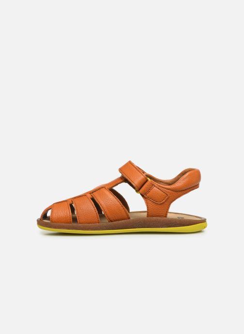 Sandales et nu-pieds Camper Bicho E Orange vue face