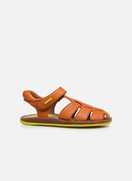 Sandalen Camper Bicho E orange ansicht von hinten