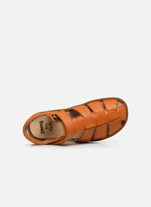 Sandalen Camper Bicho E orange ansicht von links