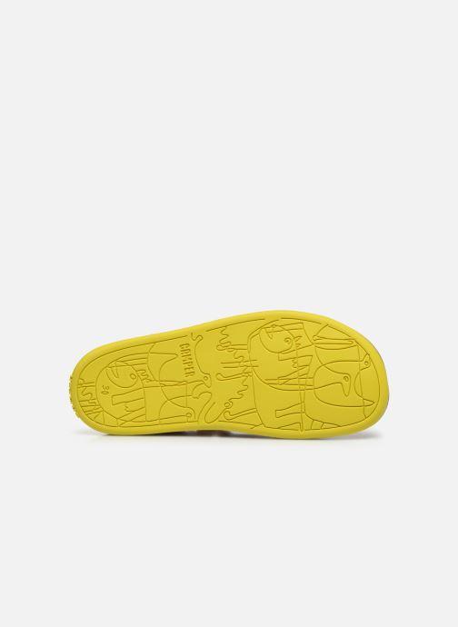 Sandales et nu-pieds Camper Bicho E Orange vue haut
