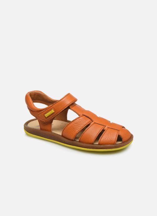 Sandales et nu-pieds Camper Bicho E Orange vue détail/paire