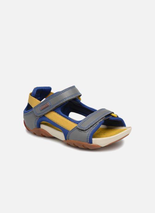 Sandals Camper Ous E Blue detailed view/ Pair view