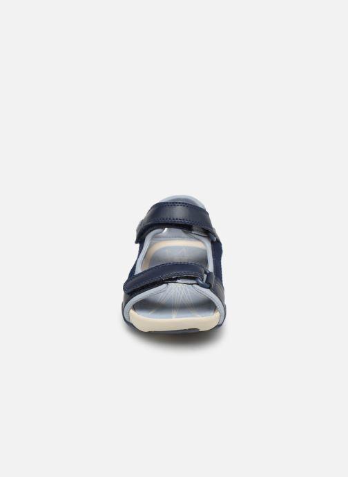 Sandalen Camper Ous E blau schuhe getragen