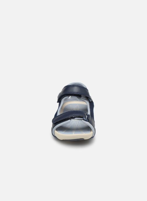 Sandales et nu-pieds Camper Ous E Bleu vue portées chaussures