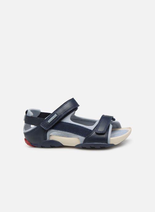 Sandalen Camper Ous E blau ansicht von hinten