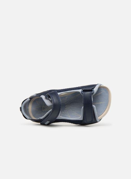 Sandalen Camper Ous E blau ansicht von links