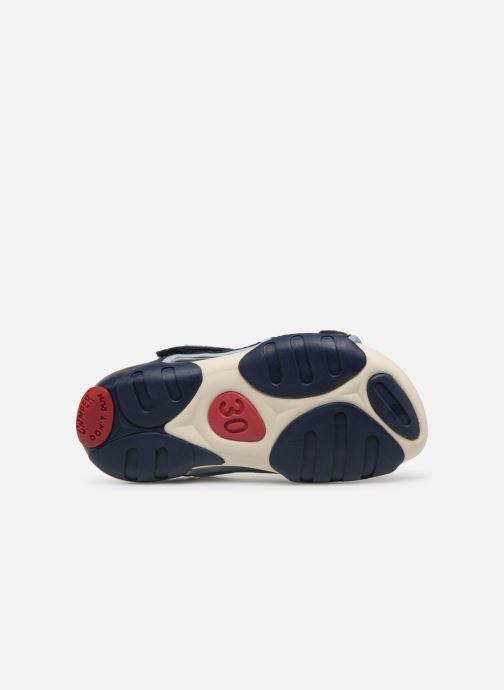 Sandales et nu-pieds Camper Ous E Bleu vue haut
