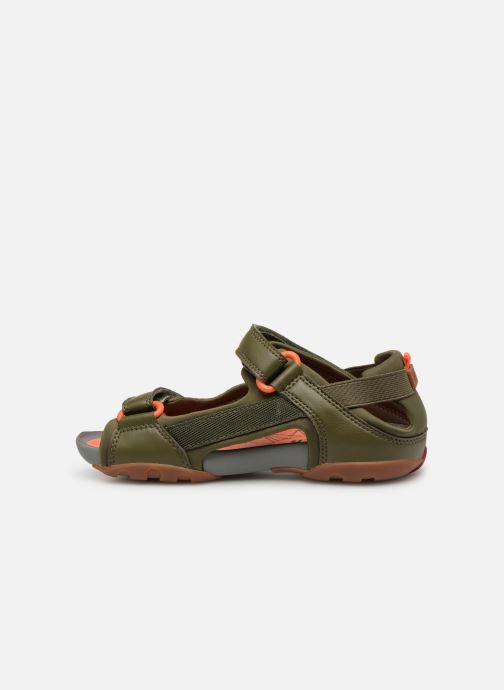 Sandales et nu-pieds Camper Ous E Vert vue face