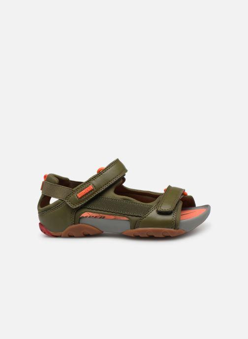 Sandales et nu-pieds Camper Ous E Vert vue derrière