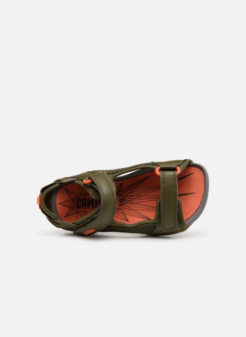 Sandales et nu-pieds Camper Ous E Vert vue gauche