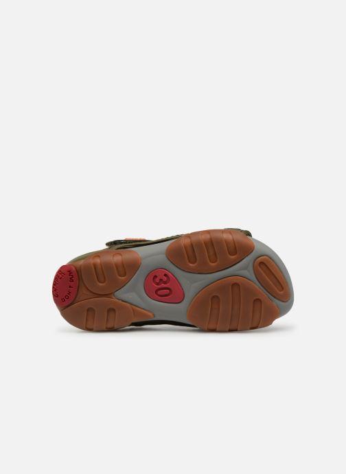 Sandales et nu-pieds Camper Ous E Vert vue haut