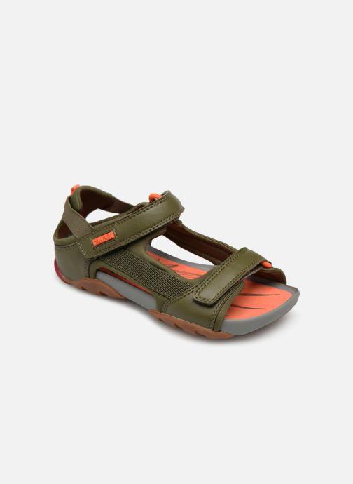 Sandales et nu-pieds Camper Ous E Vert vue détail/paire