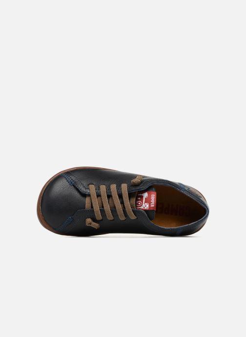 Sneakers Camper Peu Low Cami Azzurro immagine sinistra