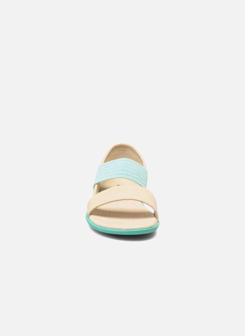 Sandali e scarpe aperte Camper Pelotas Summer Bianco modello indossato