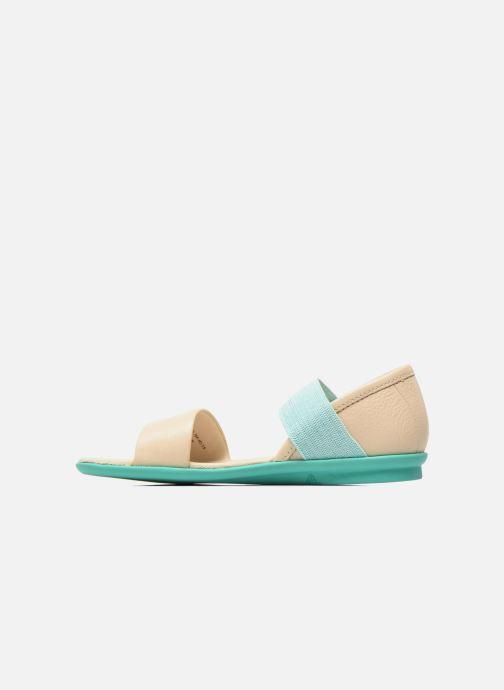 Sandali e scarpe aperte Camper Pelotas Summer Bianco immagine frontale