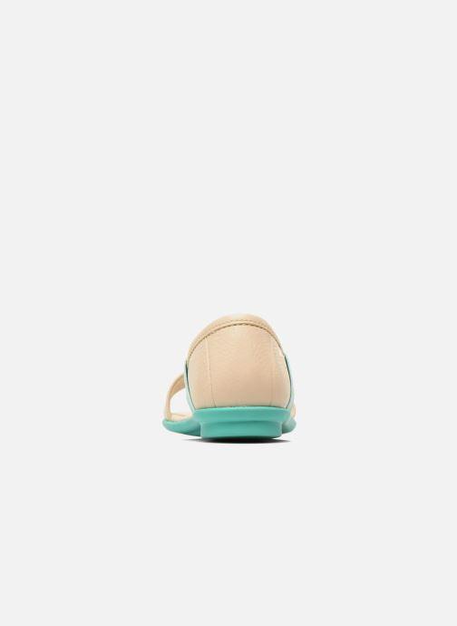 Sandali e scarpe aperte Camper Pelotas Summer Bianco immagine destra