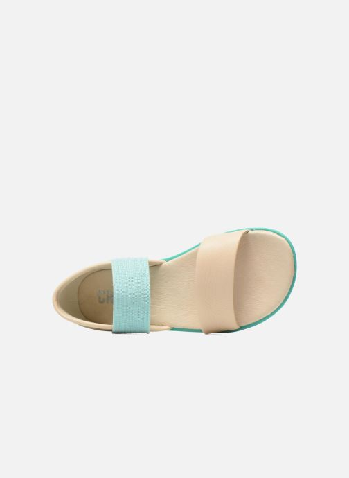 Sandals Camper Pelotas Summer White view from the left