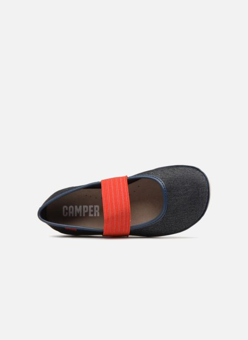 Ballet pumps Camper Nina Blue view from the left