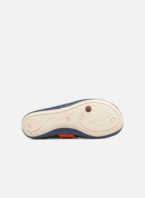 Ballet pumps Camper Nina Blue view from above
