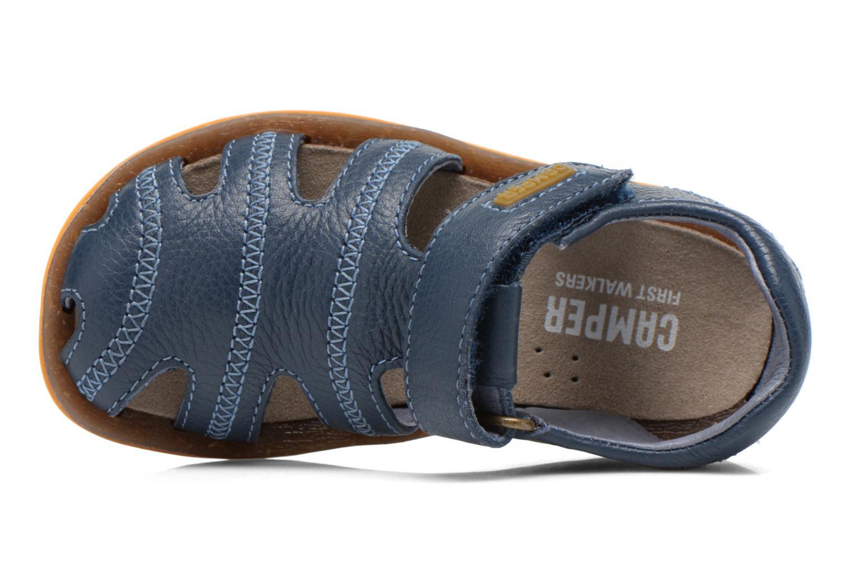 Sandales et nu-pieds Camper Bicho B Bleu vue gauche