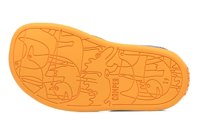 Sandales et nu-pieds Camper Bicho B Bleu vue haut