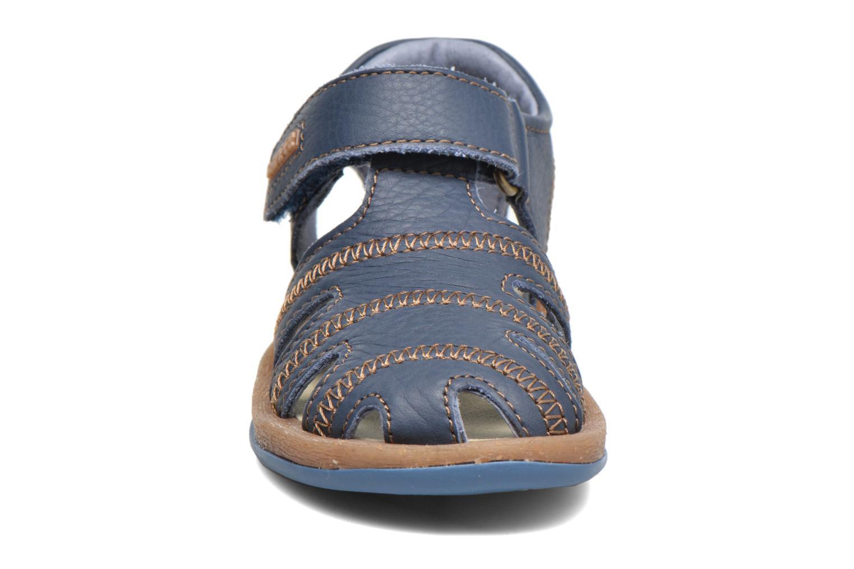 Sandales et nu-pieds Camper Bicho B Bleu vue portées chaussures