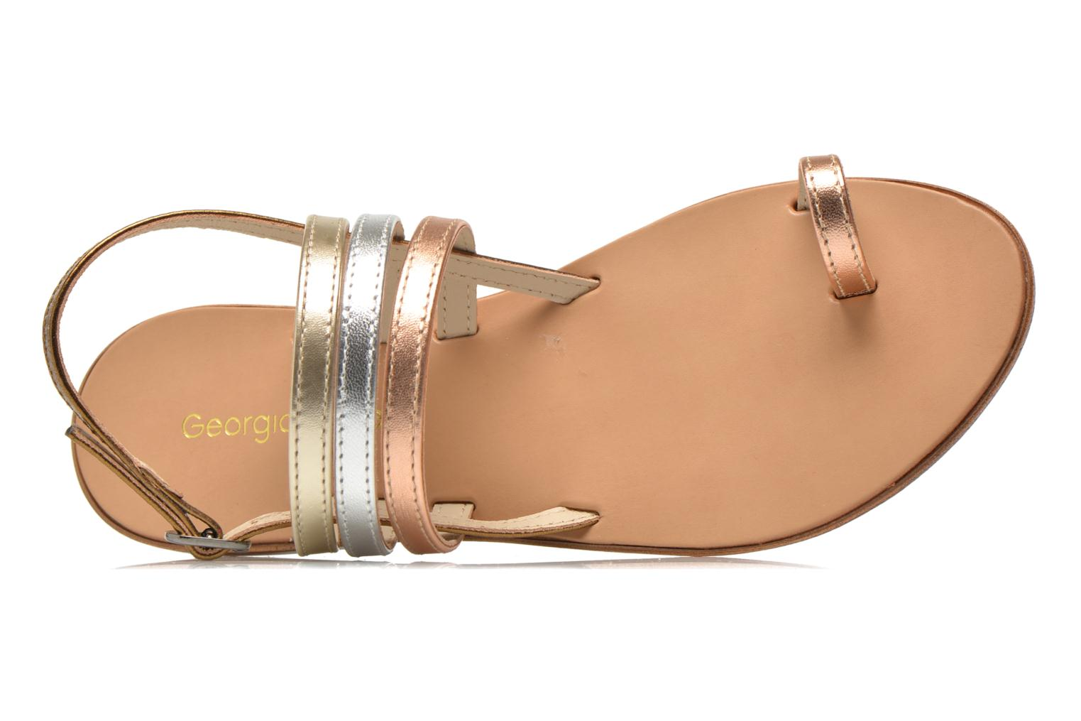 Sandals Georgia Rose Camio Bronze and Gold view from the left