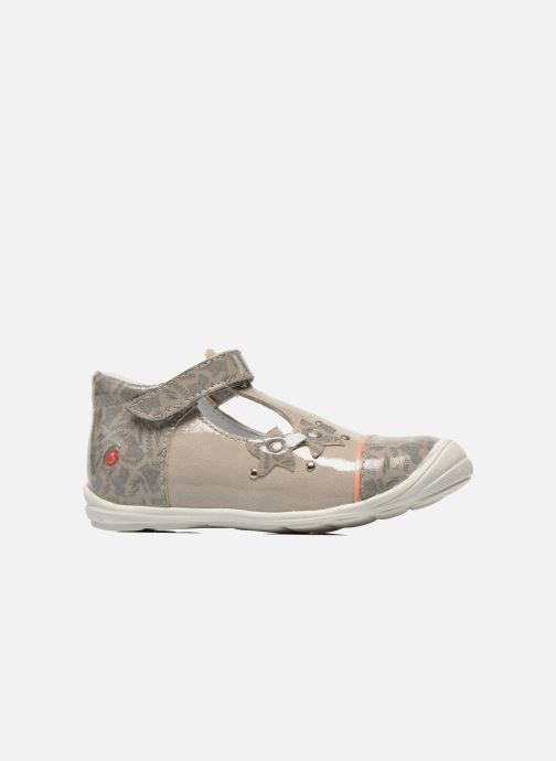 Zapatos con velcro GBB Melissa Gris vistra trasera