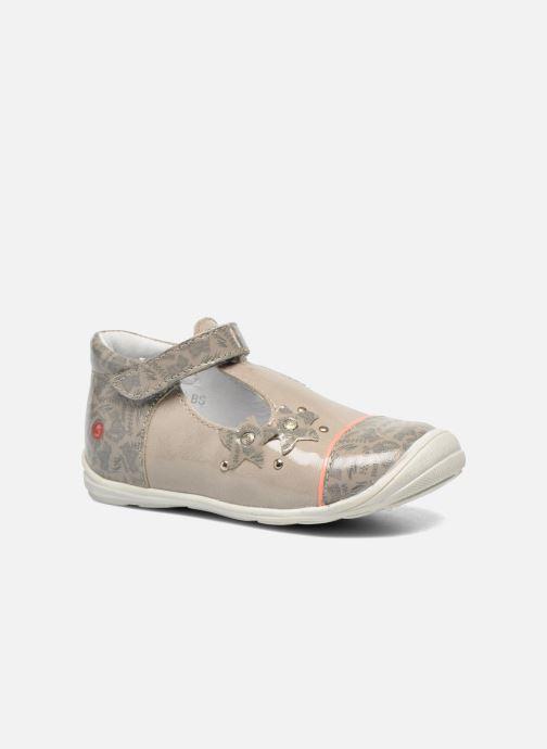 Zapatos con velcro GBB Melissa Gris vista de detalle / par