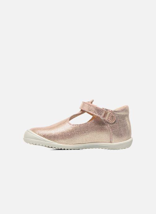 Schoenen met klitteband GBB Margot Roze voorkant