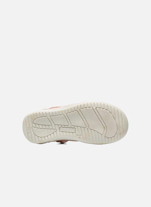 Zapatos con velcro GBB Margot Rosa vista de arriba