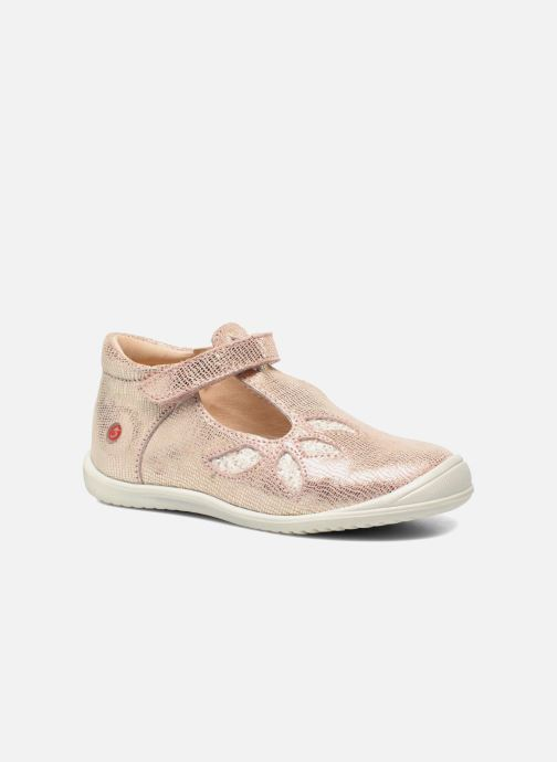 Schoenen met klitteband GBB Margot Roze detail