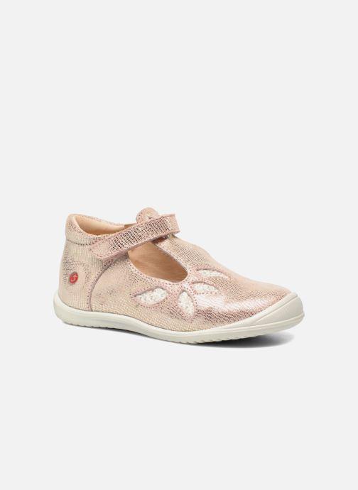 Zapatos con velcro GBB Margot Rosa vista de detalle / par