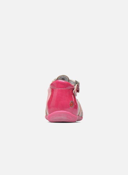 Stiefeletten & Boots GBB Milla rosa ansicht von rechts
